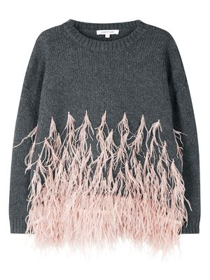 Love, Want, Need: Elizabeth and James's Feather Sweater