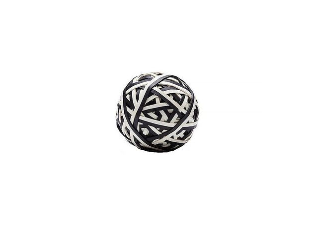 Hay Elastic Ball in Black and White