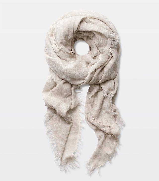 Wilfred for Aritzia Pop Art Blanket Scarf