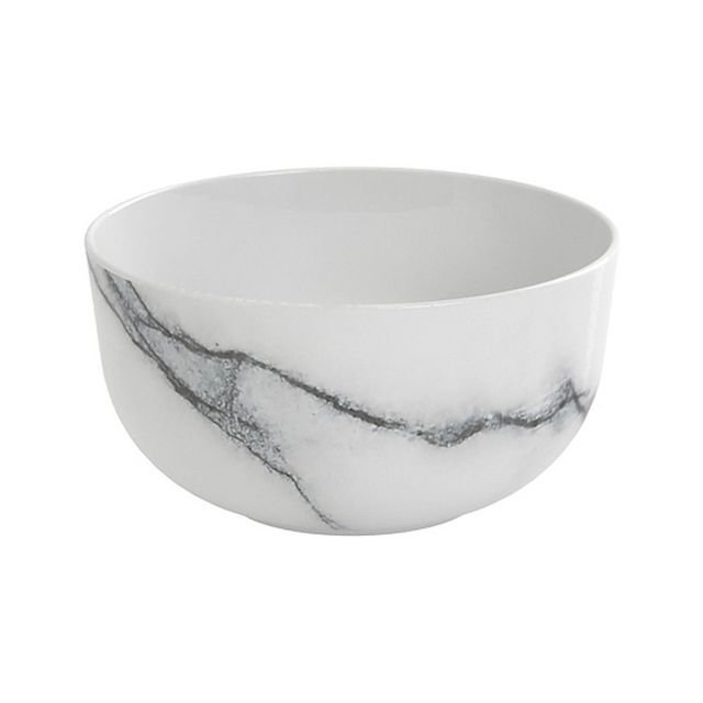 Salt & Pepper Marble Rice Bowl