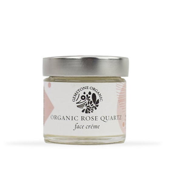 Gemstone Organic Organic Rose Quartz Face Créme