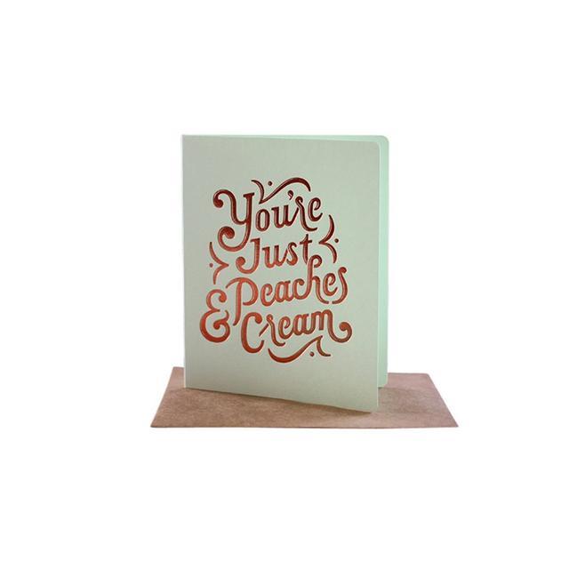 Liberty Trading Co. Peaches & Cream Card