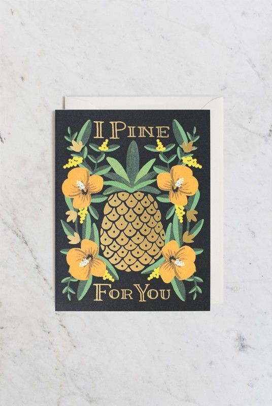 Liberty Trading Co. I Pine For You Card