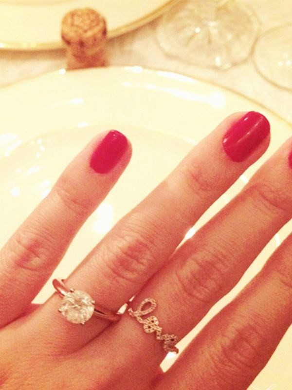 What the Average Girl Considers a Big Engagement Ring | WhoWhatWear