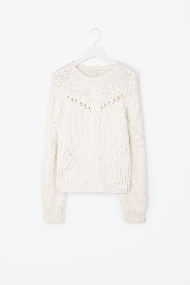 COS Cable-Knit Jumper