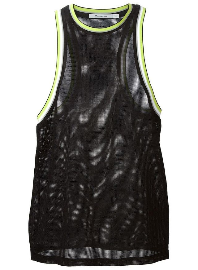 T by Alexander Wang Mesh Tank Top