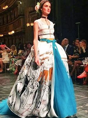 The Divine Instagram Snaps From Dolce & Gabbana's Couture Show