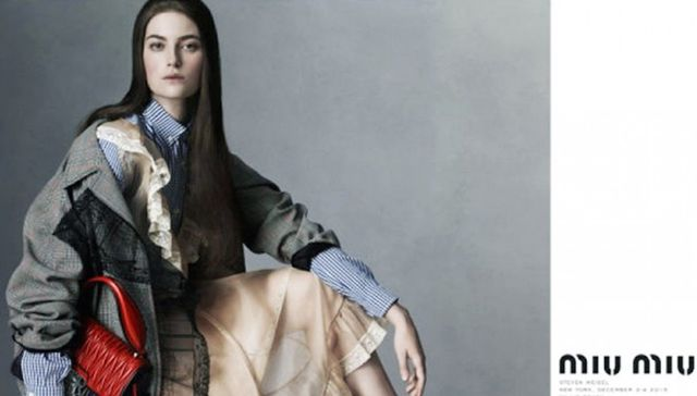 Millie Brady in Miu Miu's spring 2016 campaign. WWW UK: What went through your head when Miu Miu asked you to be in the campaign? They have such an incredible history of picking the very best new...