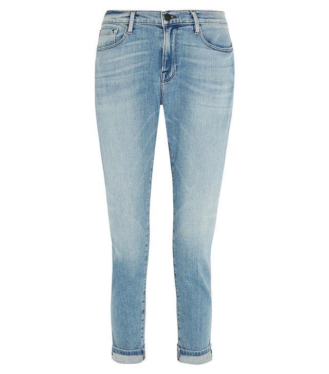 Frame Denim Le Garçon Mid-Rise Slim Boyfriend Jeans