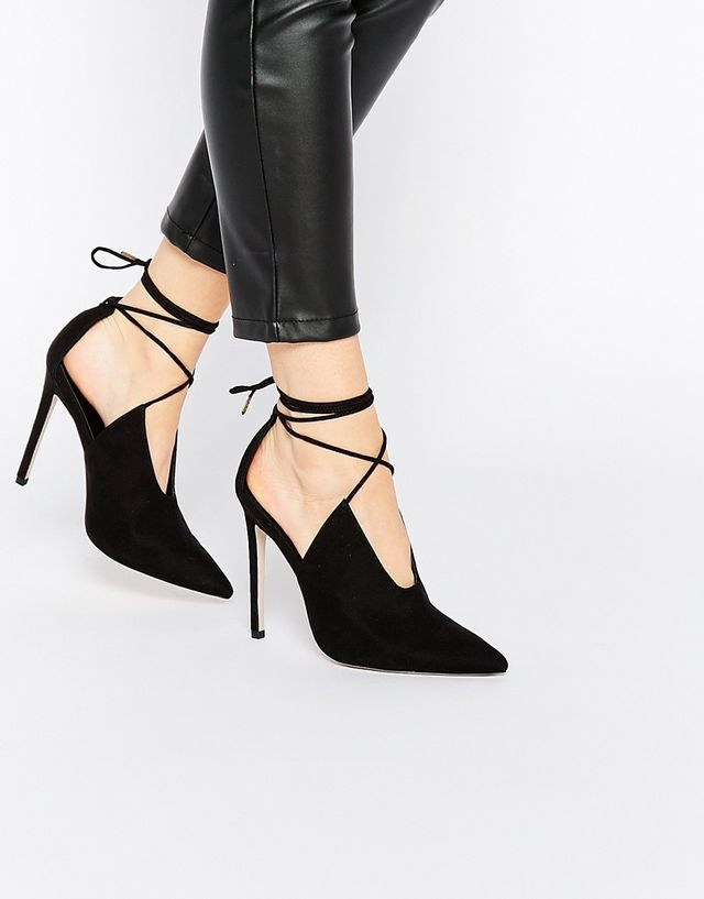ASOS Lace Pointed Heels