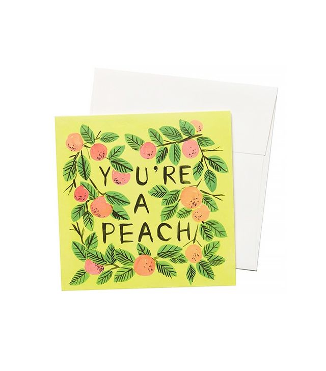 Quill & Fox You're a Peach Card