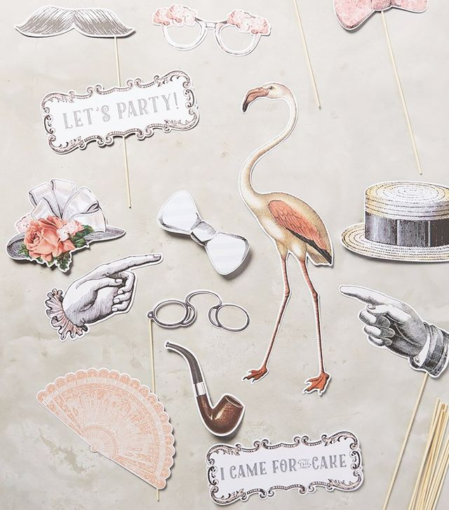 Anthropologie Photo Booth Prop Set
