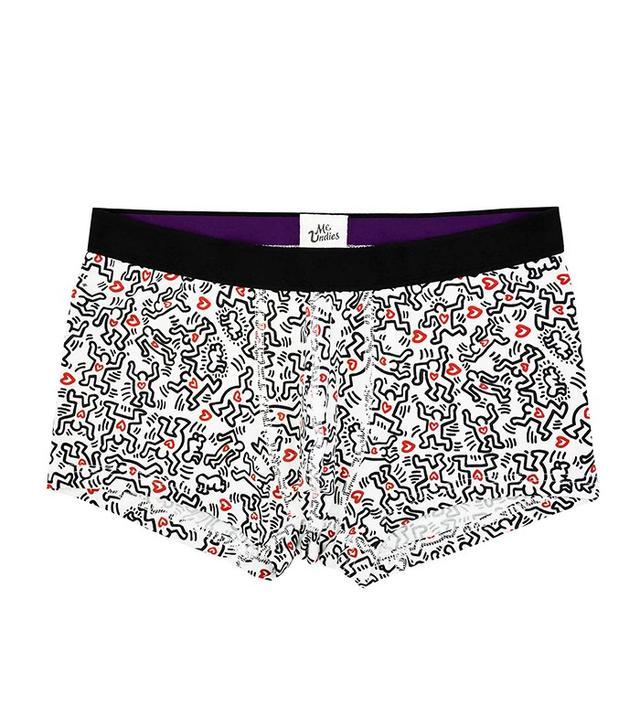 MeUndies x Keith Haring Men's Trunk