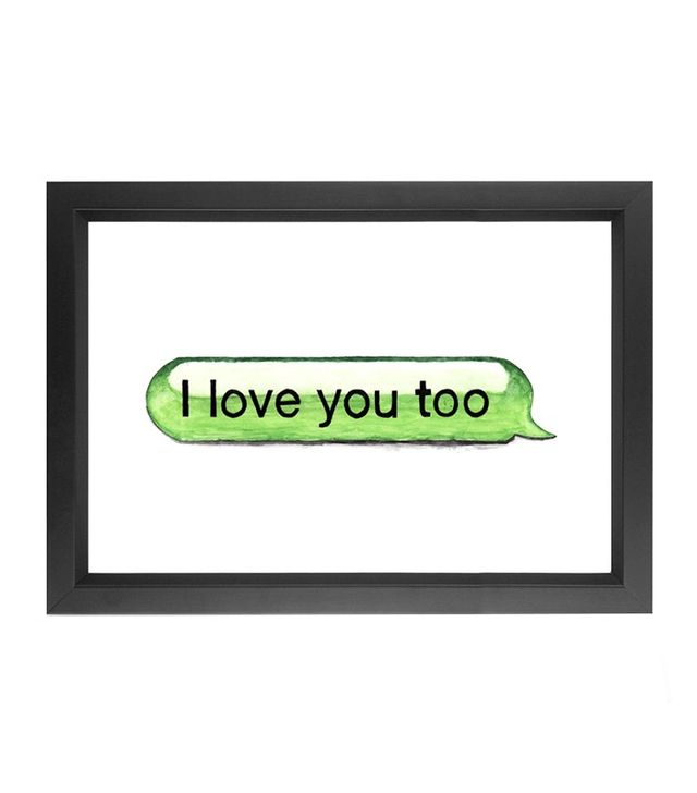 Michael Gittes I Love You Too Print