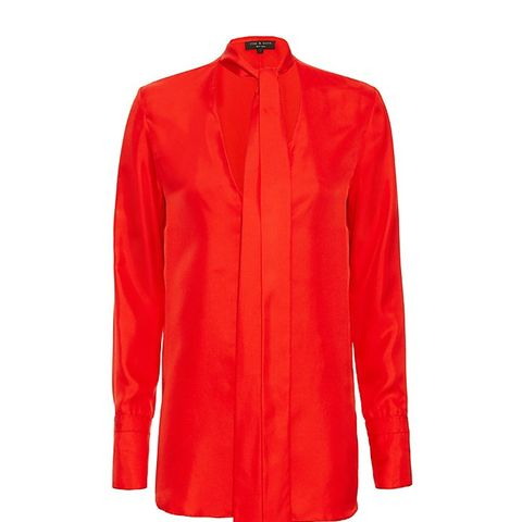 Florence Tie-Neck Blouse