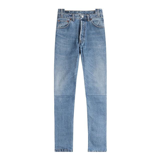 Vetements Reworked Straight Leg Jeans