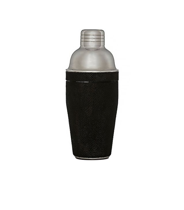 R&Y Augousti Shagreen Large Cocktail Shaker