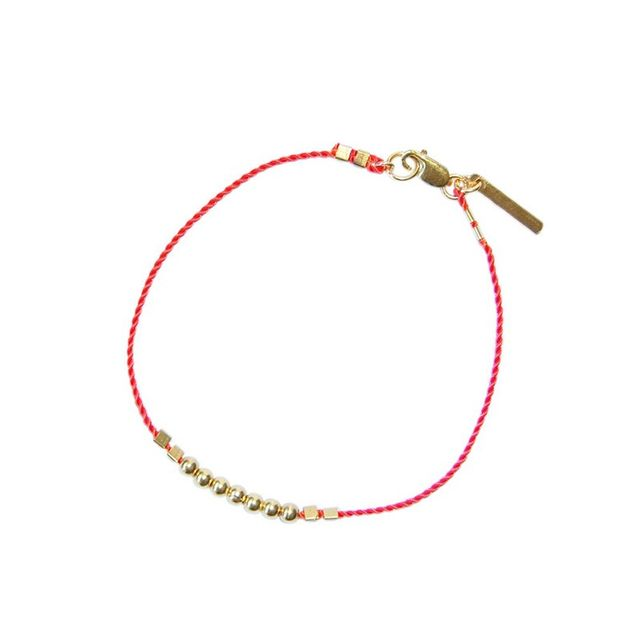 Petite Grand Gold Bead Bracelet