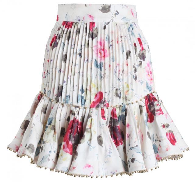 Zimmermann Mischief Tuck Skirt