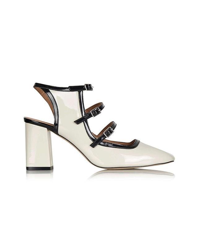 Topshop Josie Patent Mid Shoes