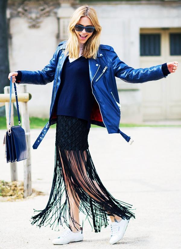 Who: Pernille Teisbaek ofLook de Pernille When/Where: Paris Fashion Week, F/W 15