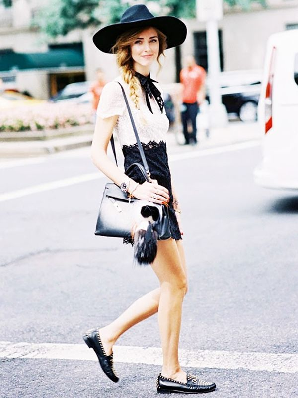 Who: Chiara Ferragni ofThe Blonde Salad When/Where: New York Fashion Week, S/S 15