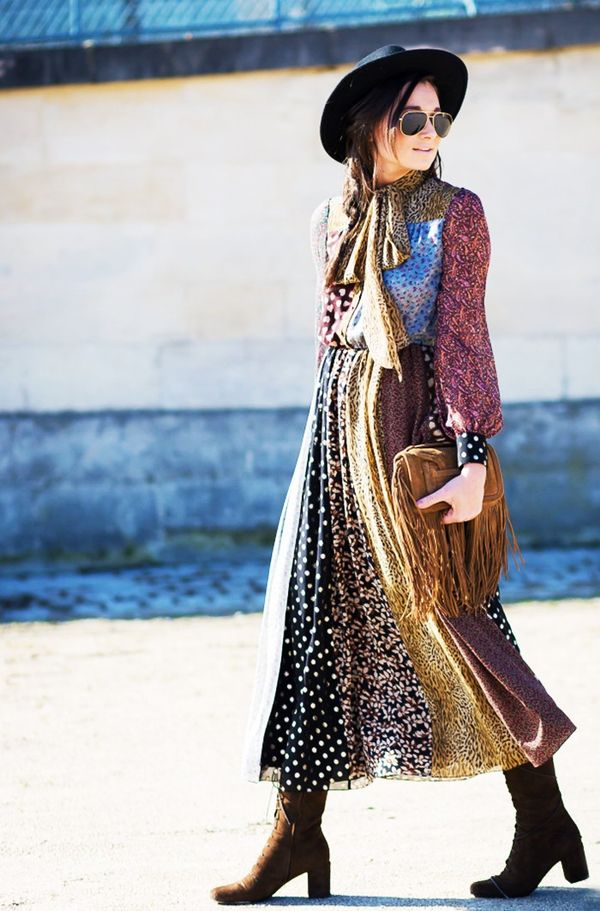 Who: Danielle Bernstein ofWe Wore What When/Where: Paris Fashion Week, F/W 14