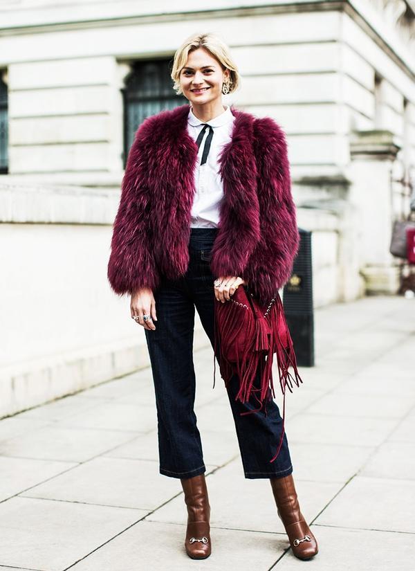 Who: Pandora Sykes ofPandora Sykes When/Where: London Fashion Week, F/W 15