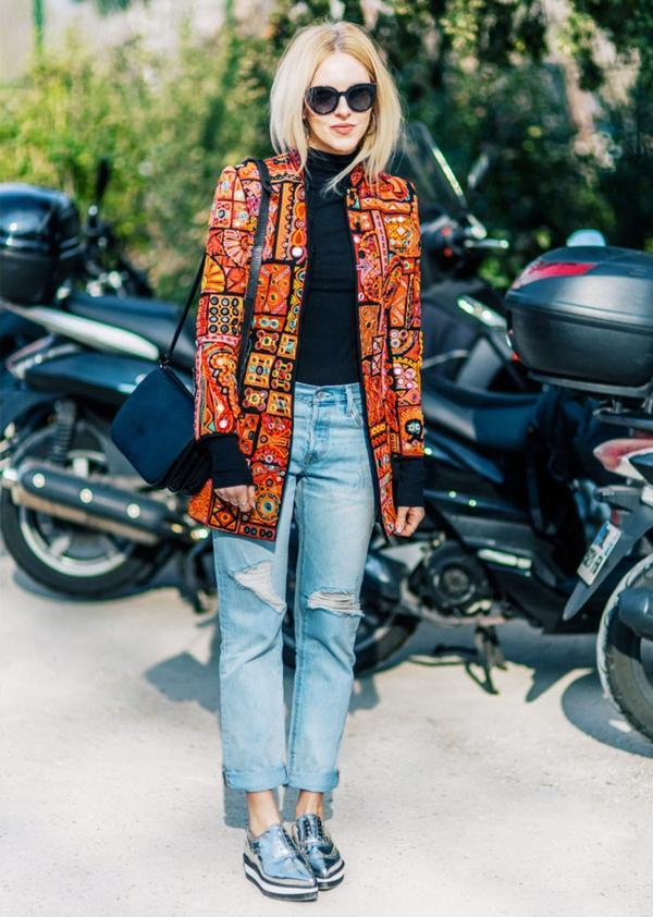 Who: Shea Marie ofPeace Love Shea When/Where: Paris Fashion Week, F/W 15