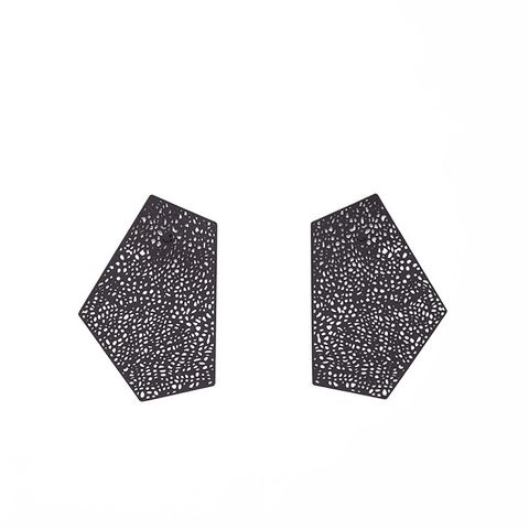 Perforated Plate Earrings
