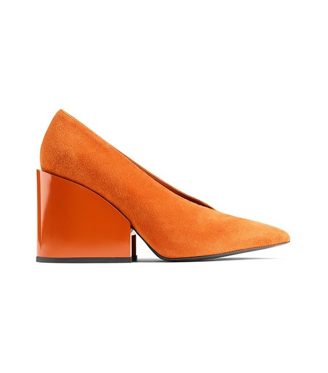 Acne Studios Alvara Burnt Orange Heels