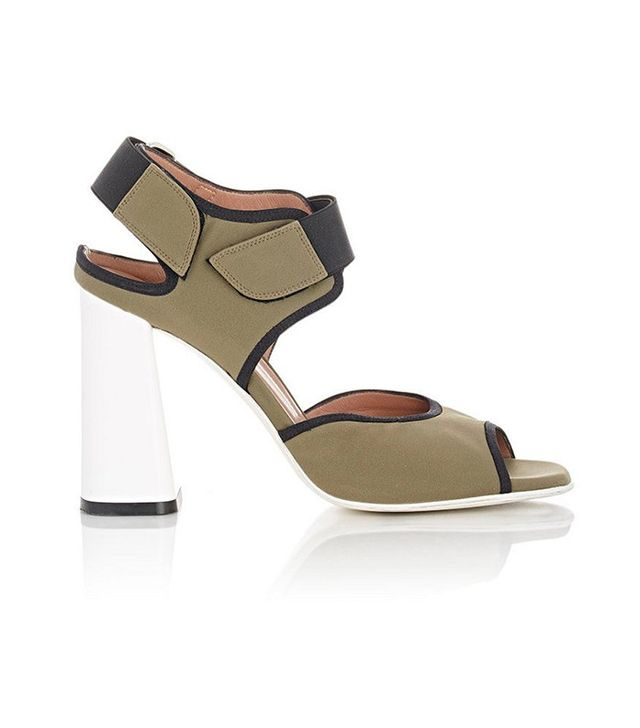Marni Neoprene Double-Strap Sandals