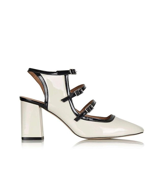 Topshop Josie Patent Mid Shoes