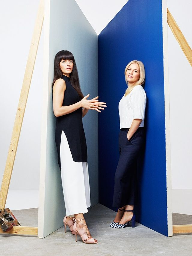 Bionda Castana founders Natalia Barbieri and Jennifer Portmanwearing pieces from the L.K.Bennett x Bionda Castanacollection. Who What Wear UK: First things first, Natalia—in the...
