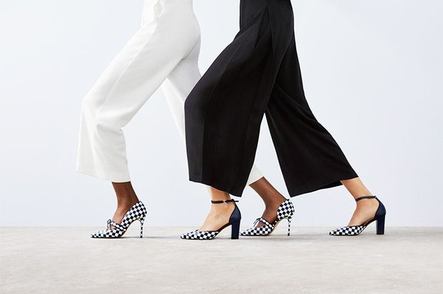 WWW UK: Which shoe do you think is most recognisably your brand's styleand how have you translated that for L.K. Bennett? The Lana pump effectively put us on the map. It was and is...