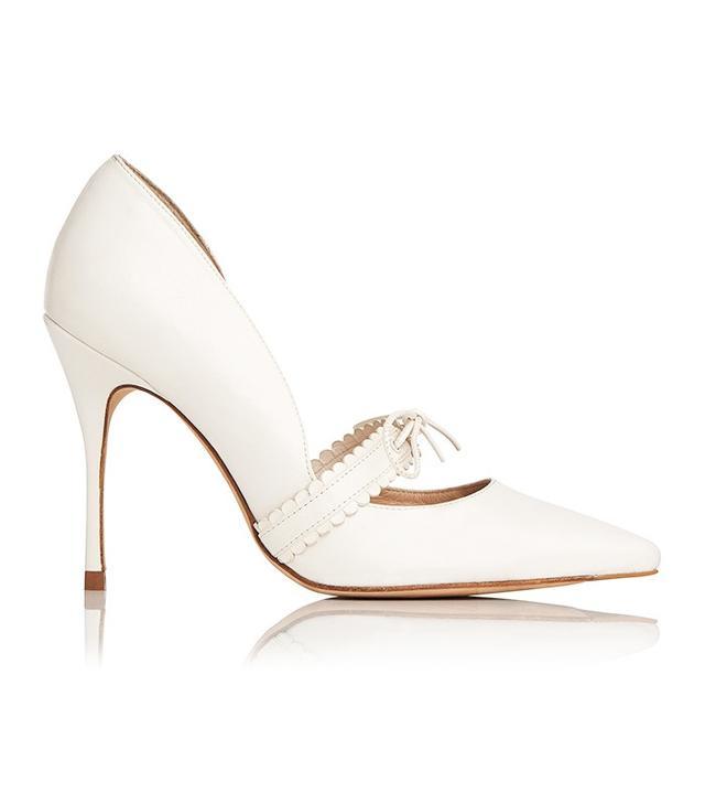 L.K.Bennett x Bionda CastanaJanuary shoe in Cream(£325).