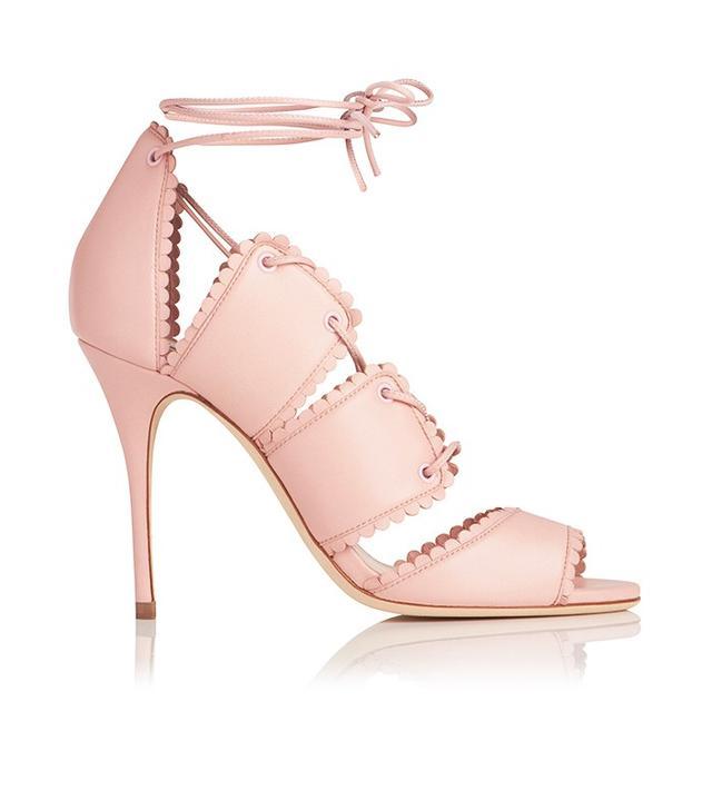 L.K.Bennett x Bionda CastanaJerry shoe in Pastel Pink.