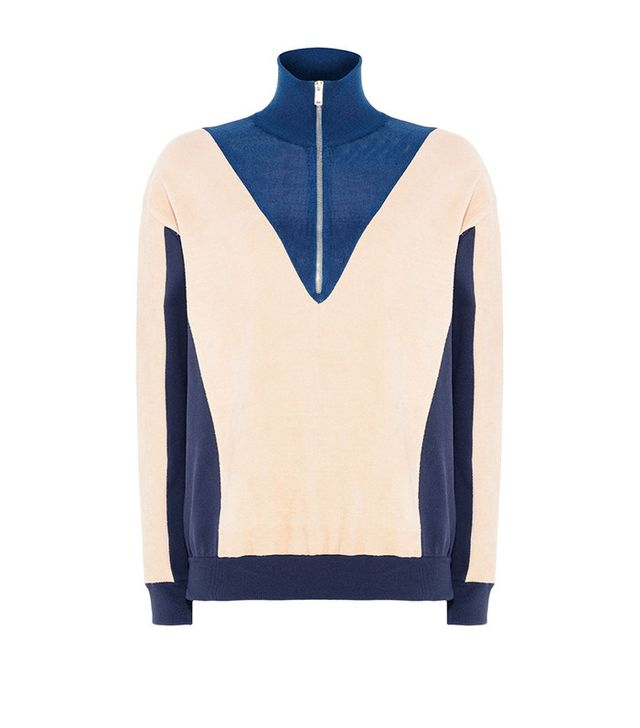 Stella McCartney Sporty Turtle Neck Jumper