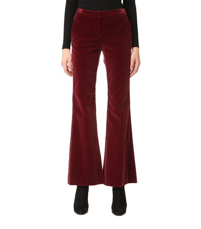 Theory Caroleena Velvet Pants