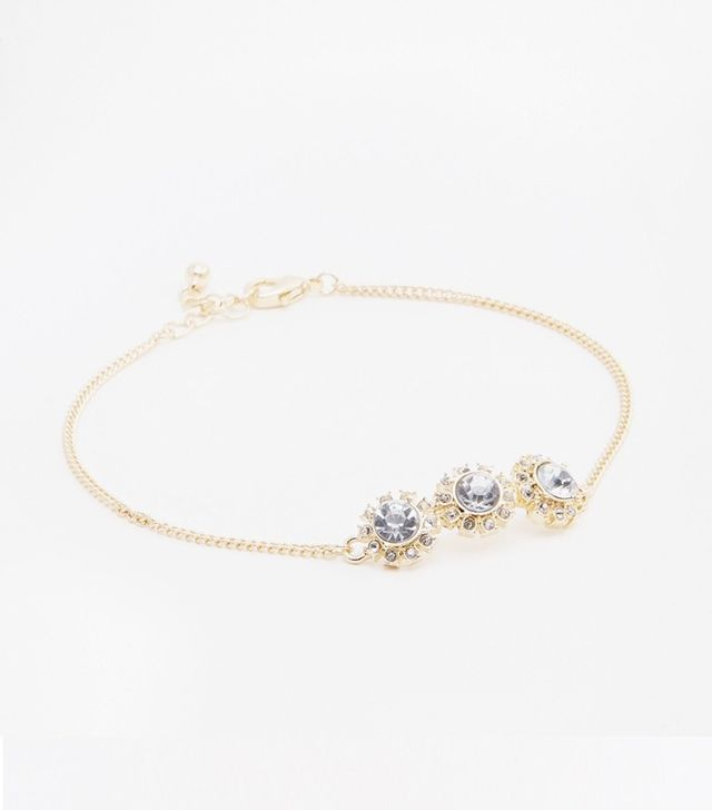 ASOS Gold Jewel Anklet