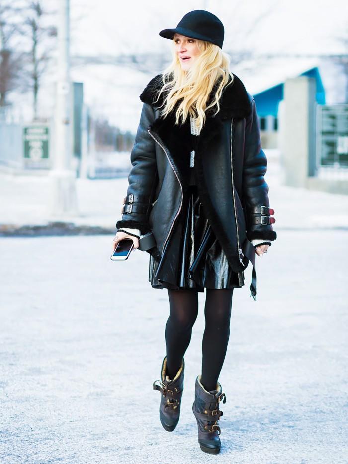 trendy winter jacket