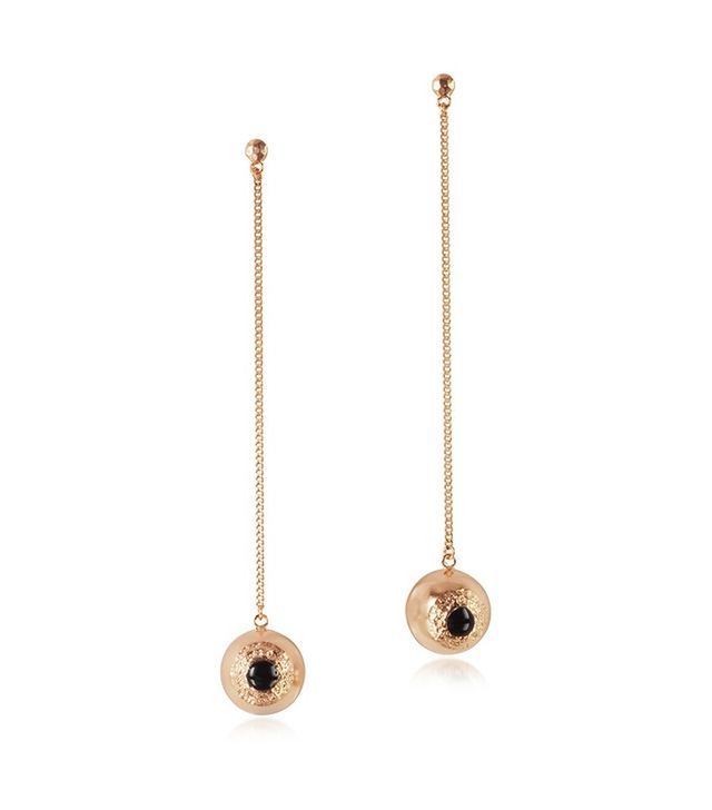 Bjørg The Hypnotizer Swinging Eyeball Earring
