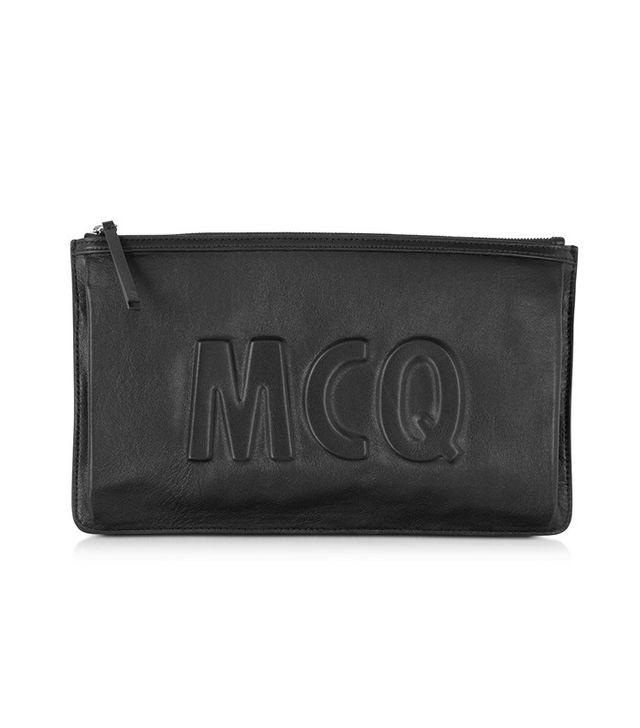 McQ Alexander McQueen Kicks Black Clutch