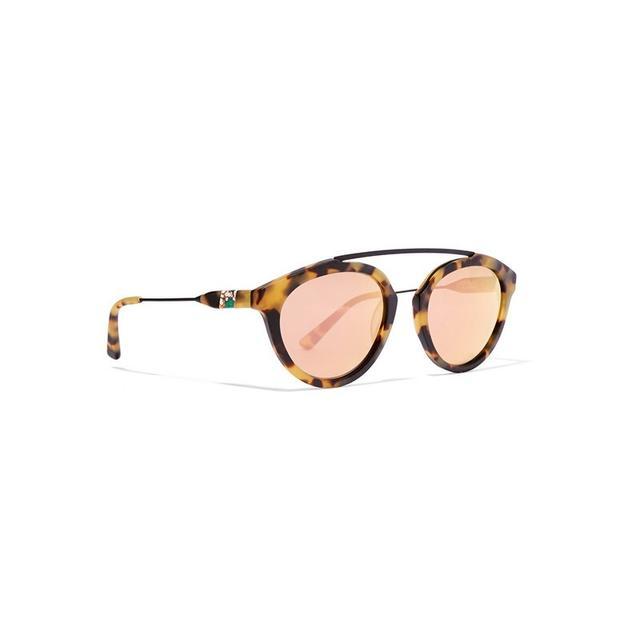 Westward Leaning x Olivia Palermo Flower 13 Aviator Style Sunglasses