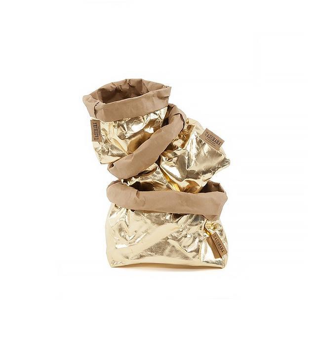 Le Sorelle Set of 3 Leather Effect Paper Bags