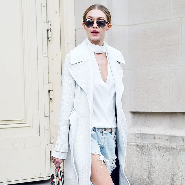 The 10-Piece Gigi Hadid Wardrobe