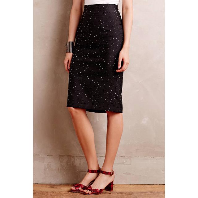 Paper Crown Nightshade Jacquard Skirt