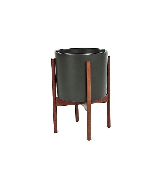 Modernica Case Study Ceramic Cylinder With Wood Stand