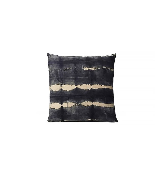 Consort Black & Grey Tie Dye Mudcloth Pillow