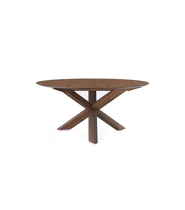 Crate and Barrel Apex Round Dining Table